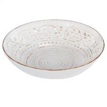 Rustic Flare Bowl,White