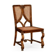 Continental Chair with Panelled Caned Back (Side)