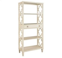 Glam Quadrifoil Open Shelving