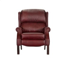 High Back recliner with Oak Chippendale leg