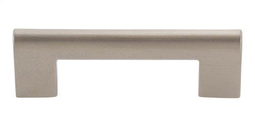 Round Rail Pull 3 Inch (c-c) - Brushed Nickel