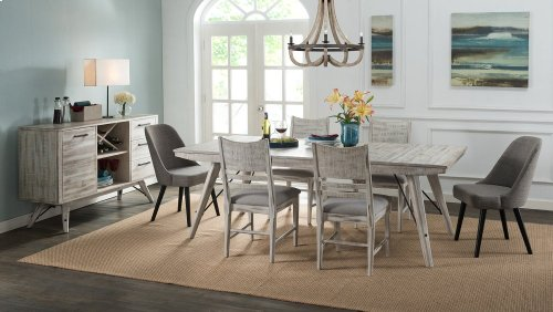 Dining - Modern Rustic Trestle Dining