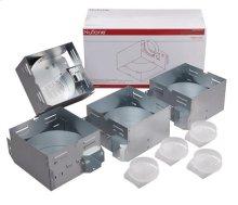 Housing Pack: 50 CFM 2.5 Sones Fan/Light