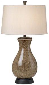 Mystic Glaze Table Lamp - Brown