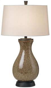 Mystic Glaze Table Lamp - Brown Product Image