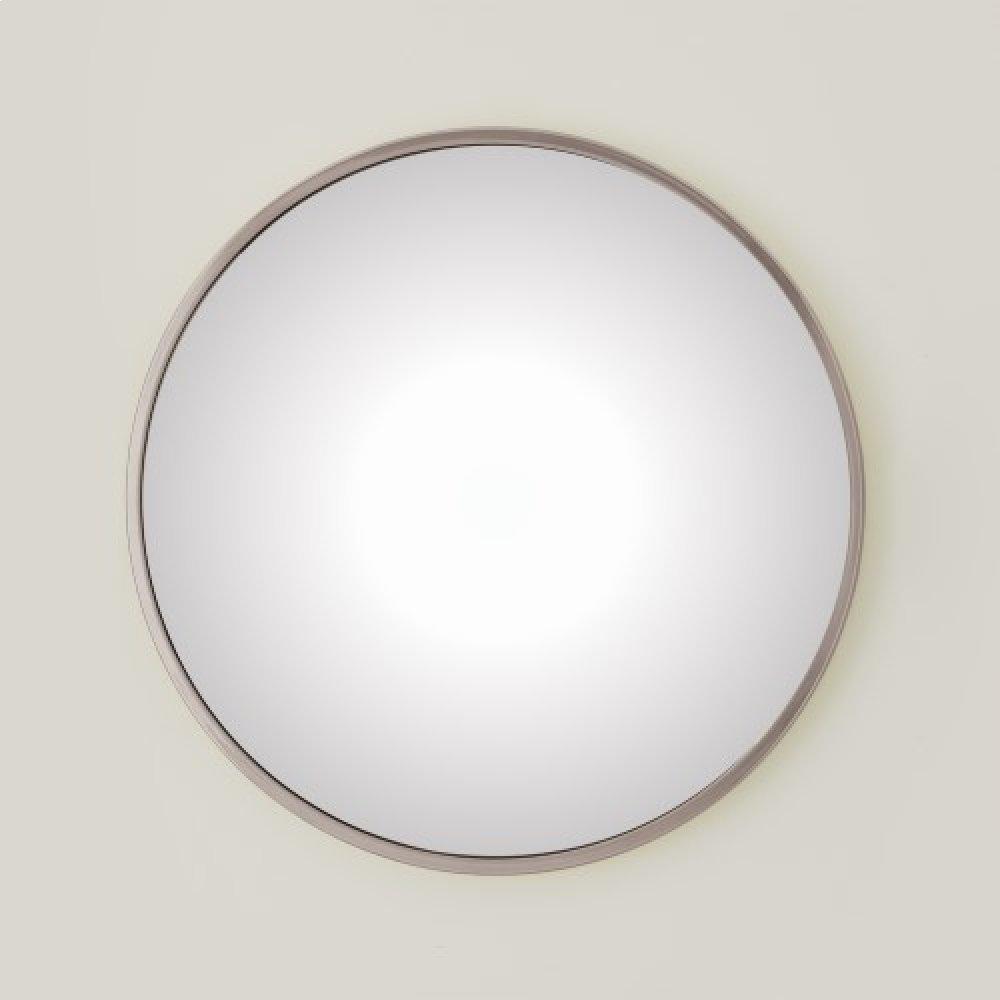 Hoop Convex Mirror-Nickel-Lg