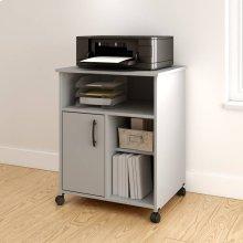 Printer Cart - Soft Gray