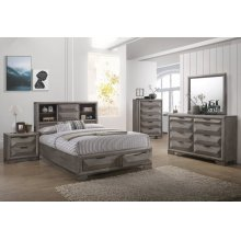 CARTER 6/6-6/0 K Panel Headboard, Footboard & Slats