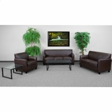 HERCULES Diplomat Series Reception Set in Brown
