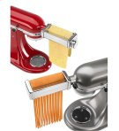 Pasta Roller and Fettuccine Cutter Set - Chrome Product Image