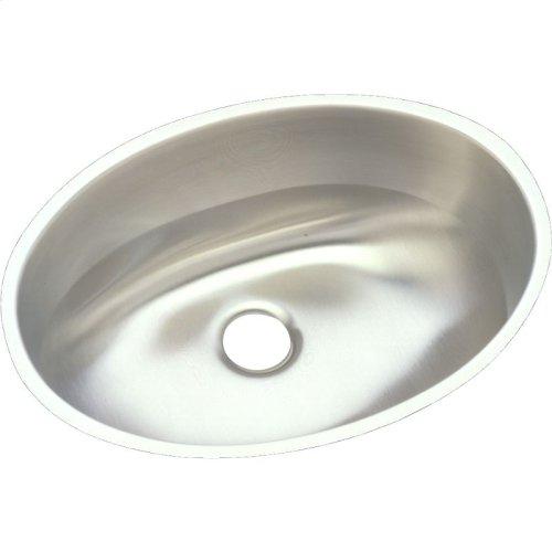 "Elkay Asana Stainless Steel 18"" x 14"" x 6"", Single Bowl Undermount Bathroom Sink"