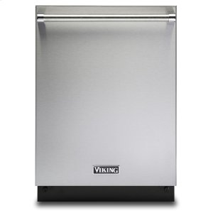"Viking24"" Dishwasher w/Installed Professional Stainless Steel Panel - VDWU524SS"