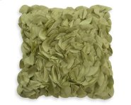 Petal Green Feather Toss Cushion 18x18 Product Image