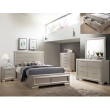 Crown Mark B4820 Paloma Storage Queen Bedroom