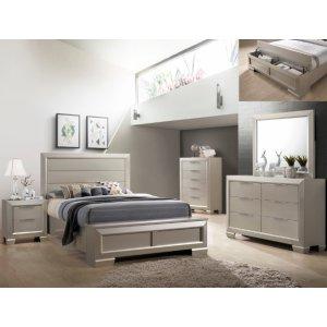 Crown Mark B4820 Paloma Storage King Bedroom