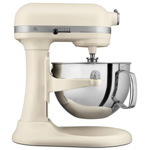 KitchenaidPro 600 Series 6 Quart Bowl-Lift Stand Mixer - Matte Fresh Linen