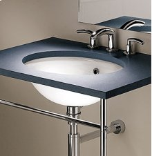 Standard Oval Sink with Overflow