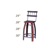 Stool With Back