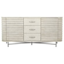Hasina Large Cabinet in Antique Grey Mahogany