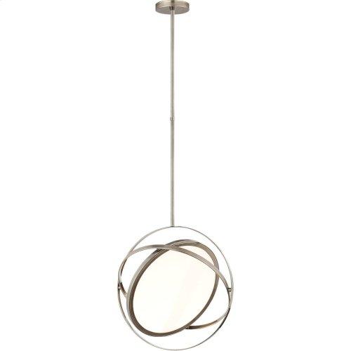 Visual Comfort PB5115AN Peter Bristol Orbit LED 19 inch Antique Nickel Pendant Ceiling Light