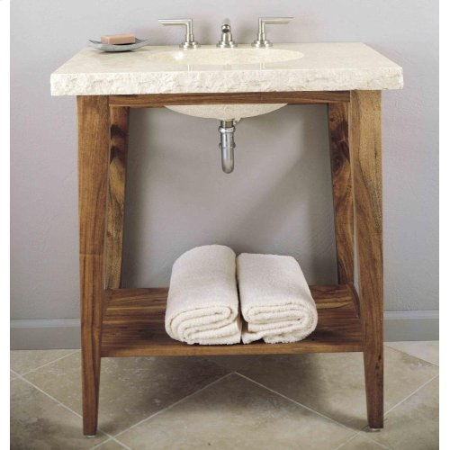 Wood Stand for Integral Sink