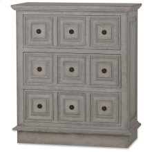 Hudson Three Drawer Commode
