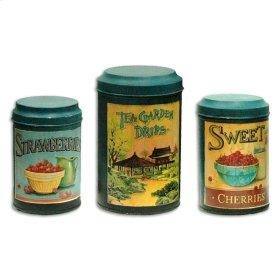 Tea Garden Canisters