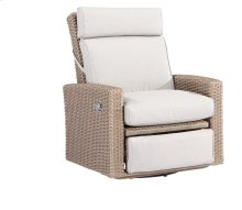 Swivel Gliding Recliner Spuncrylic #7101-71 Sketch Grey