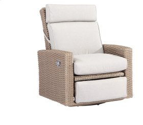 Swivel Gliding Recliner Spuncrylic Brick Grey#tw08071