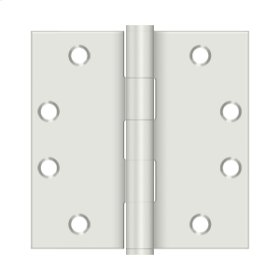 "4 1/2"" x 4 1/2"" Square Hinges, HD - Prime Coat White"