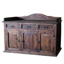 """With Star : 63"""" x 20"""" x 34"""" Server Buffet in Medio"""