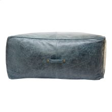 Argento Ottoman Distressed Blue
