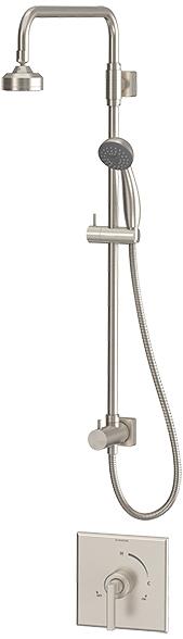 Symmons Duro® Shower/Hand Shower System - Satin Nickel