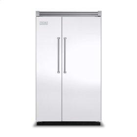 "White 48"" Quiet Cool™ Side-by-Side Refrigerator/Freezer - VISB Tru-Flush™ (48"" wide)"