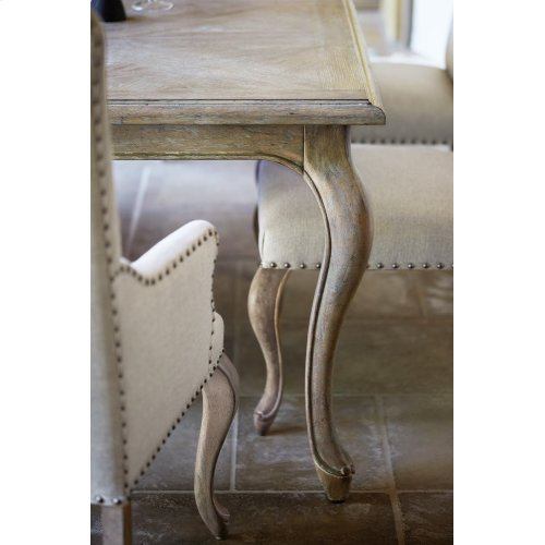 Campania Dining Table in Weathered Sand (370)