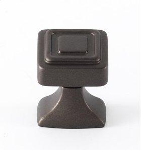 Cube Knob A985-1 - Chocolate Bronze