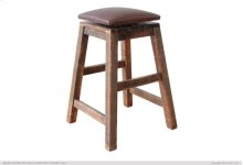 "30"" Swivel Stool - with Faux Leather seat"
