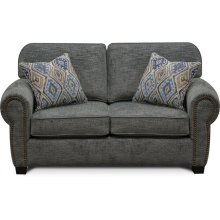 Neil Loveseat with Nails 8A06N