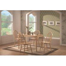 Damen Country Natural Rectangular Dining Table