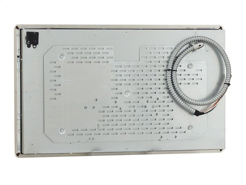 """36"""" Electric Cooktop with 5 Elements and Touch-Activated Controls - Stainless Steel"""