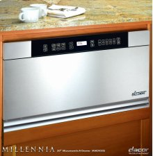 """Discovery 24"""" Microwave-In-A-Drawer in Stainless Steel"""