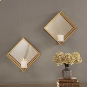 Zulia Candle Sconce, S/2