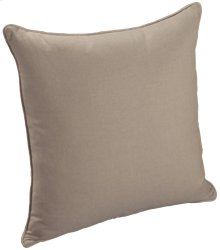 "Throw Pillows Knife Edge Square w/welt (21"" x 21"")"