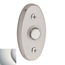 Polished Nickel with Lifetime Finish Oval Bell Button