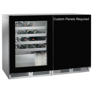 "Perlick 48"" Single Temperature Wine Reserve"