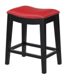 """Emerald Home Briar 24"""" Bar Stool Traditional Red D107-24-02 Product Image"""