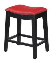 "Emerald Home Briar 24"" Bar Stool Traditional Red D107-24-02"