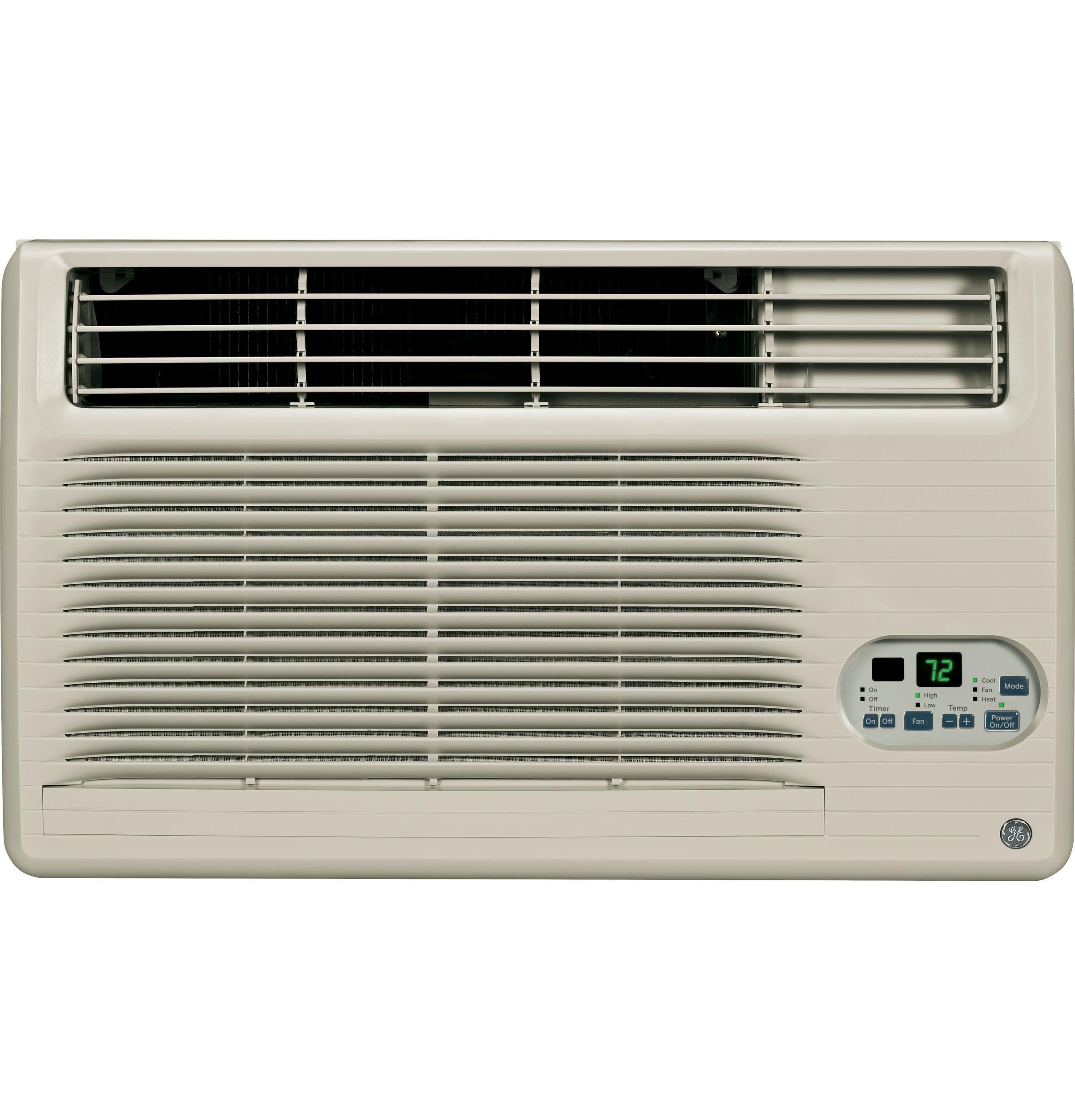 GE(R) 230/208 Volt Built-In Heat/Cool Room Air Conditioner  SOFT GRAY