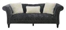Emerald Home Hutton II Sofa Nailhead With 3 Pillows
