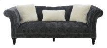 Emerald Home Hutton II Sofa Nailhead With 3 Pillows